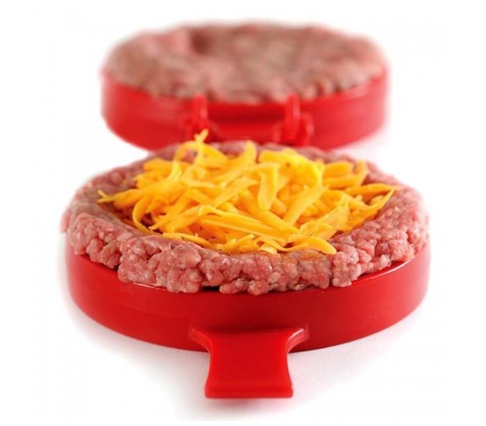 Molde para hamburguesa normal o rellena
