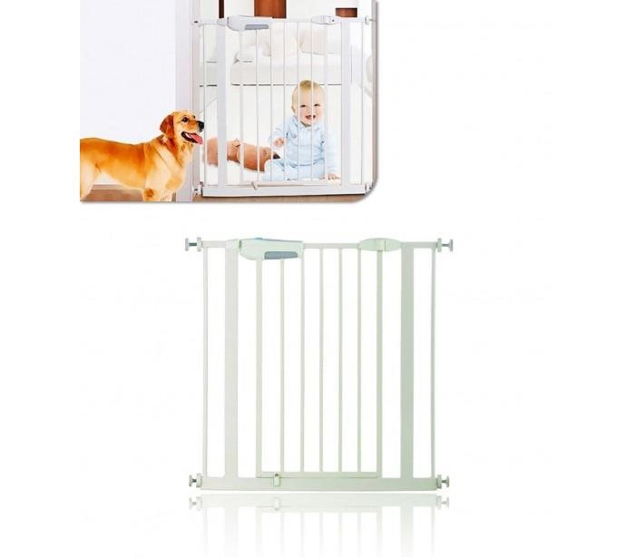 Barrera seguridad y bloqueo extensible para beb s y - Puertas seguridad bebes ...