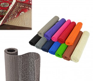 Tapete antideslizante multiusos de PVC en diferentes colores GRIP LINE 30x150 cm