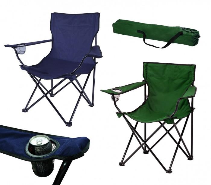 2971 silla de camping y jard n plegable miami con posa vasos - Sillas de camping plegables ...