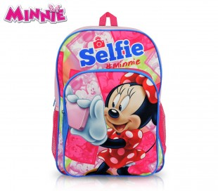 MI16101 Mochila escolar Minnie Mouse 41x28,5x20 cm