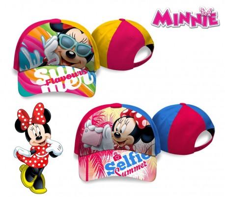 WD16960 Gorra ajustable con visera de Minnie Mouse
