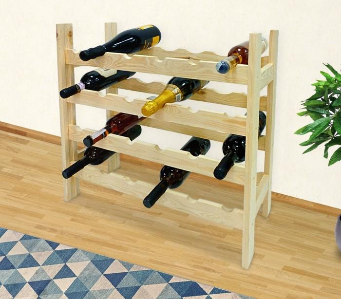 Estanterias para botellas de vino cool estanterias para - Estanterias para botellas ...