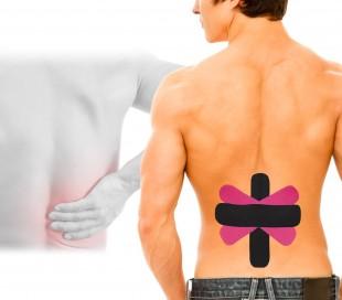 626671 Set de 8 Tapes Kinesiologia para la espalda y el lumbago