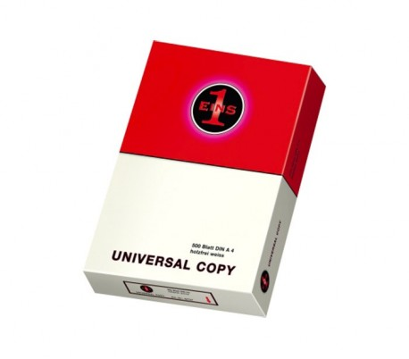 42757 Set de 5 paquetes de 500 hojas tamaño A4 de 80 gr Eins Universal Copy