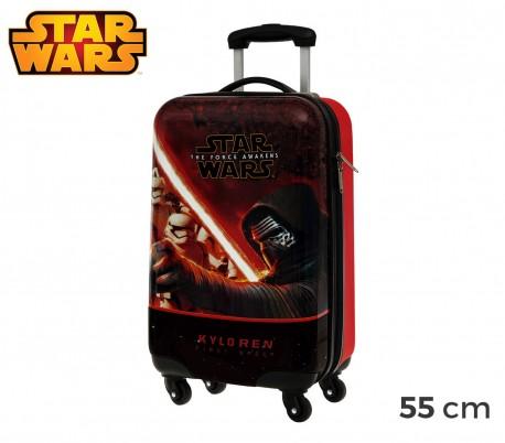 4641451 Trolley rígida de mano en ABS de Star Wars 55x33x20 cm