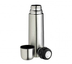 510427 Termo de acero inoxidable WLEKHOME con cierre de tapón de 1000 ml