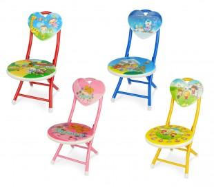 211649 Silla plegable para niños en diferentes colores y patrones
