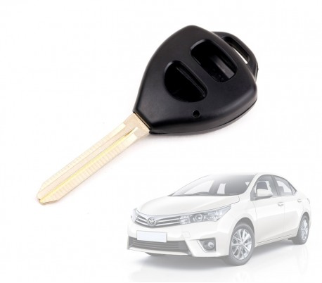Carcasa para llave de coche con control remoto compatible con TOYOTA COROLLA