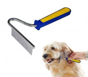 JXBGO – Cepillo para retirar el pelo de perros de pelo largo y mediano