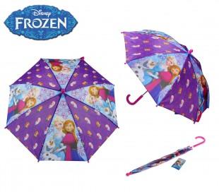 9774 Paraguas para la lluvia infantil motivo Frozen 54 cm DISNEY