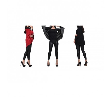 Cardigan modelo Sevia  con mangas murciélago para la moda femenina