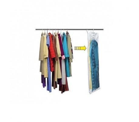 Bolsa organizador de ropa ahorra espacio en el armario efecto aspiración
