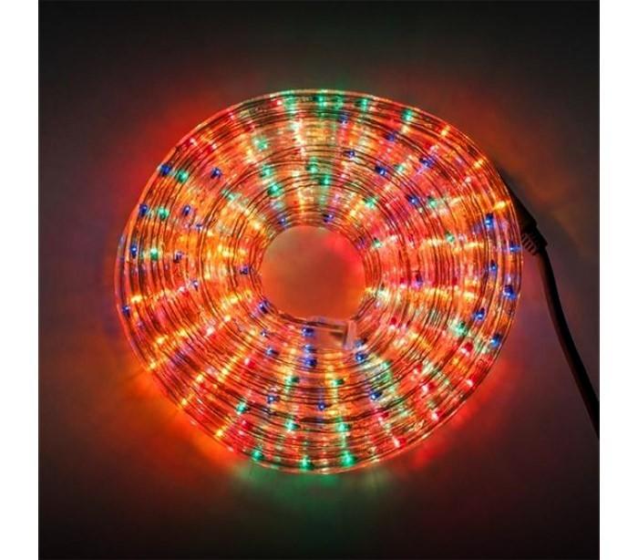 291241 tubo navide o con 360 luces efecto multicolor para for Luces de navidad para exteriores