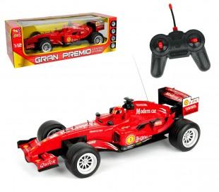 37741 Coche de Fórmula 1 teledirigido a escala 1:12 (incluye mando con 4 funcion