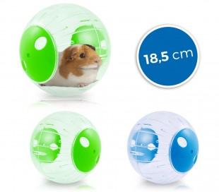 10578 Juego pequeños roedores Mini Twisterball de plástico rígido ø 18.5 cm