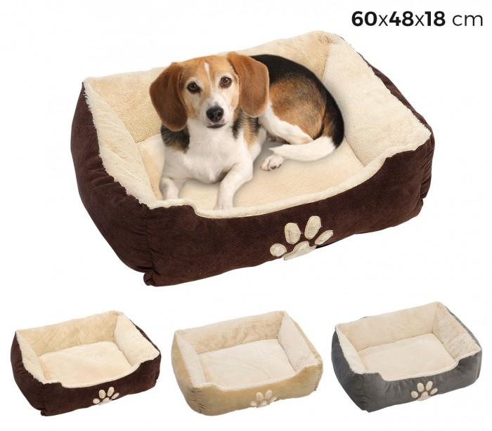 95067 cama canina para dormir con un acolchado coj n muy for Camas de dormir