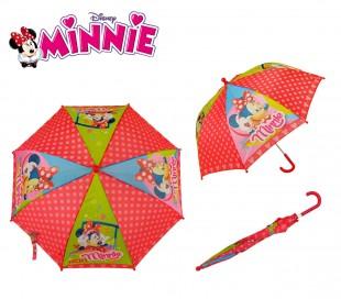 WD16850 Paraguas 57 cm para niña con motivo de Minnie Mouse-Disney