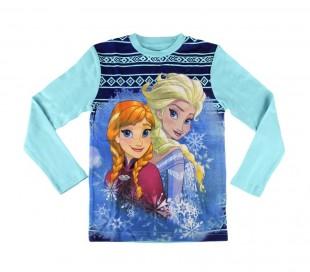 1719 Pijama de algodón para niñas con motivo Frozen (4 a 8 años)