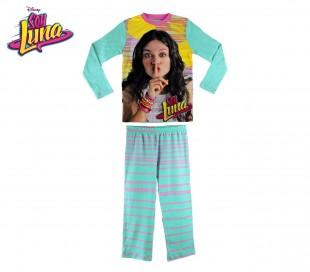 1719 Pijama de algodón para niñas con motivo Soy Luna(6 a 12 años)