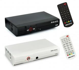 DEC 549N USB Decodificador televisión TDT anchos de banda VHF y UHF Majestic