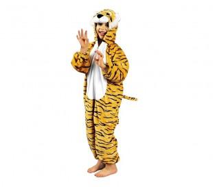 227646 Disfraz carnaval motivo Tigre para niño y niña con cremallera -1 a 4 años