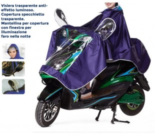 Funda impermeable unisex scooter motos universal
