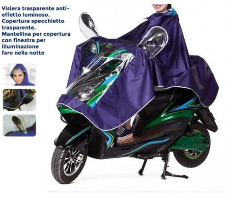Funda impermeable unisex scooter motos universal
