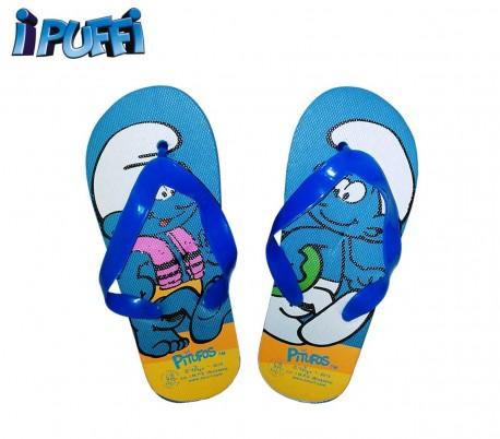 2301000547 Sandalias para niños motivo LOS PITUFOS DISNEY