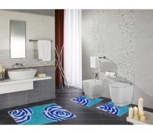 103 FLOW Conjunto de 3 tapetes para la decoración del baño