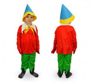 619564 Disfraz de carnaval motivo PINOCHO (3 a 12 años)
