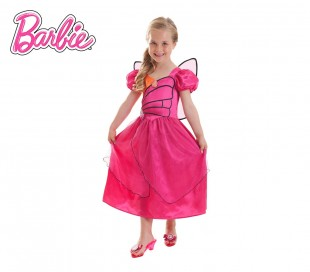 546379 Disfraz de carnaval motivo BARBIE MARIPOSA (3 a 10 años)