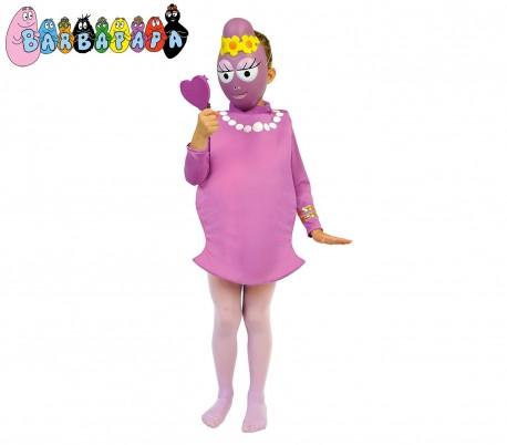 197734 Disfraz de carnaval motivo BARBABELLA (2 a 7 años)