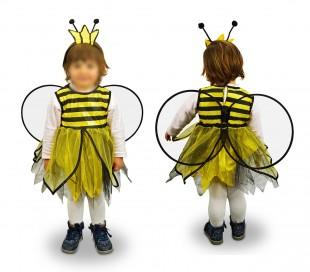 619434 Disfraz de carnaval motivo ABEJA (3 a 12 años)