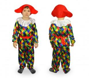 537349 Disfraz de carnaval motivo ARLEQUÍN (3 a 12 años)