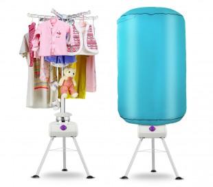 930048 Tendedero secador eléctrico con temporizador de aire caliente 145 x 60 cm