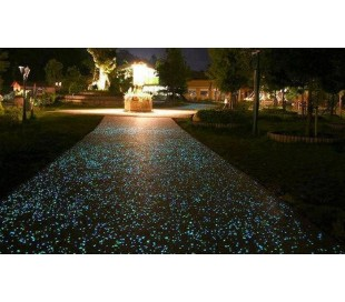 Pack de 300 piedras decorativas luminosas que brillan en la oscuridad