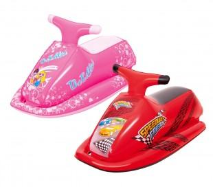 41001 Moto cavalgable de agua inflable para niños Bestway 89x46 cm
