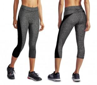 KZ-150 Leggings deportivos hasta la rodilla para mujer adecuados para gimnasio