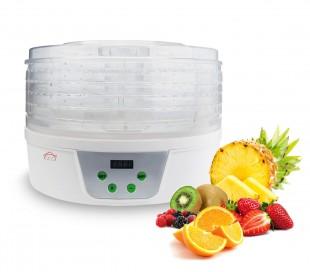 Deshidratador de alimentos DCG FD1078 con bandejas giratorias 360 °