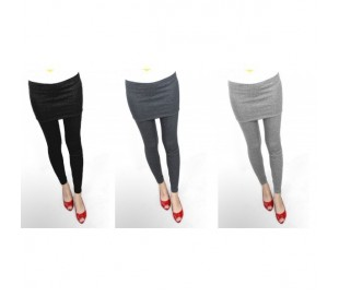 Leggings con falda&pantalón (leggings)