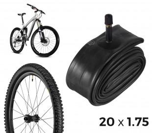 304598 Cámara de aire para bicicletas reparación de pinchazos 18 x 1.75