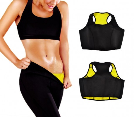 305167 Top neopreno fitness efecto sauna y adelgazante talla S alla XXL