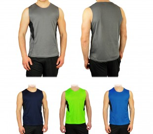 KZ-332 Camiseta deportiva para hombres mod. TECHNICOLOR tallas de la S a la XL