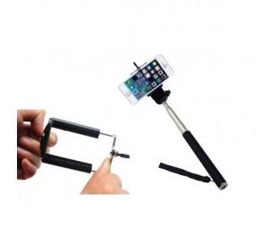 Brazo extensible selfie portátil extensible (compatible con smartphones cámaras)