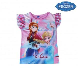 2200001949 Camiseta para niña FROZEN Elsa y Anna algodón de 3 a 7 años
