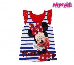 2200001940 Camiseta de algodón para niña motivo MINNIE tallas 2 a 6 años