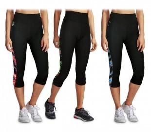 KZ-290 Pantalón deportivo para mujer de tejido transpirable y cintura alta