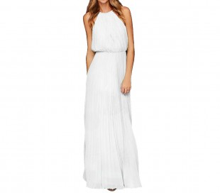 3906 Vestido largo sin mangas para mujer en varios colores tallas de la S a XL