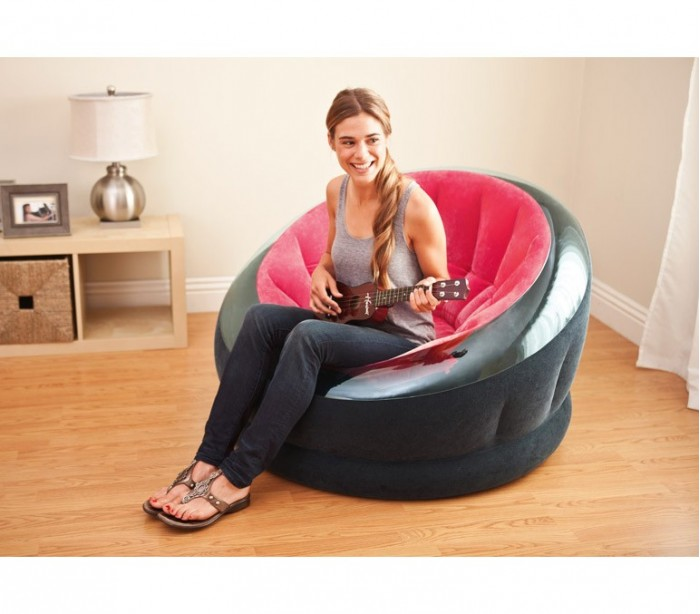 68582 Sill N De Relax Inflable Intex Tela Impermeable 112